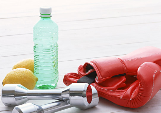 夏バテ予防に運動のあとは水分補給