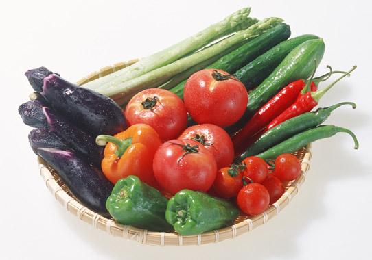 ミネラル不足は野菜を食べる