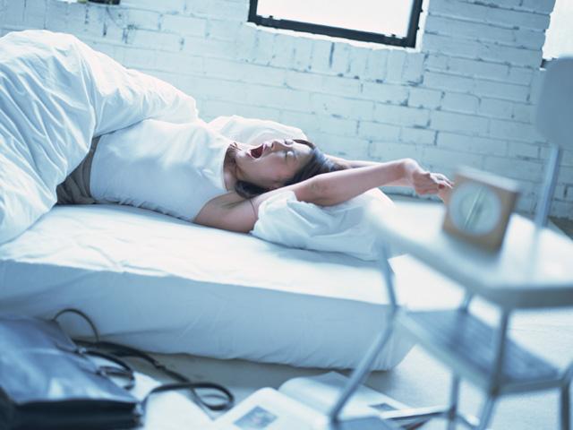 快眠がいちばんの夏バテ対策です。